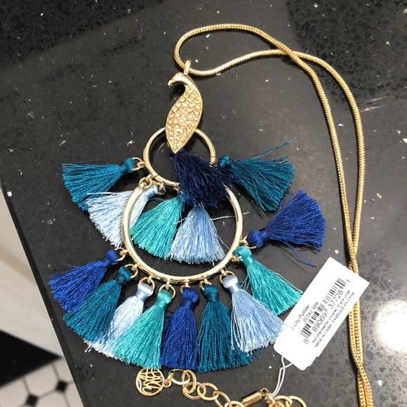 NWT Lilly Pulitzer Peacock Necklace.
